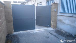 Portail 2 Vantaux en Aluminium