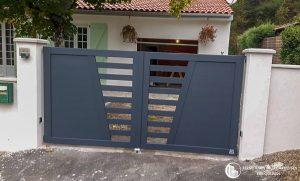 Vue extérieure pour portail de cloture sur carmaux dans le 81