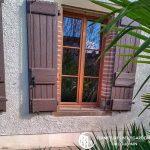 Fenêtre en bois double vitrage rénovation