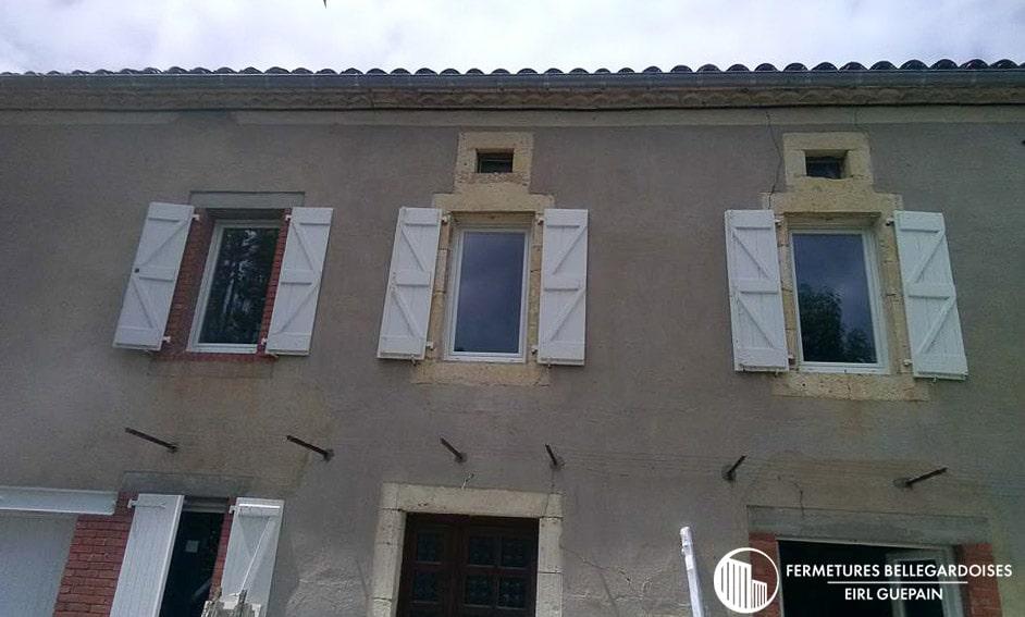 Fenêtres 1 vantail oscillant