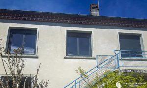 Fenêtres 2 vantaux en aluminium