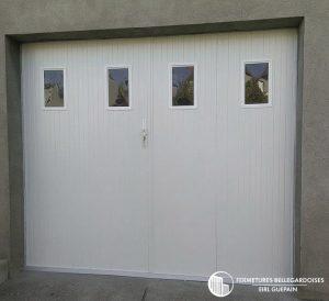 Portail de garage 4 vantaux