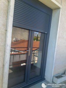 Porte-fenêtre store en aluminium sur Castres 81100