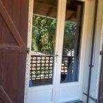 Porte fenêtres battante style classique verre double vitrage