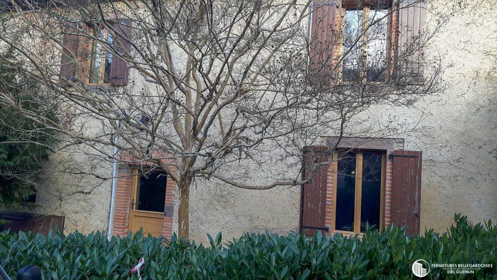 Rénovation ancien menuiserie bois Cagnac-les-mines