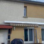 Rénovation d'une maison à Saint-Juéry avec changement des fenêtres pvc avec volets roulants solaires intégrés