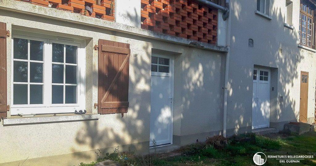 Rénovation maison traditionnelle changement menuiserie à Figeac (46000)
